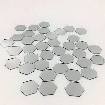 Obrázek Nálepky na zeď/zrcadlo - víceúhelník