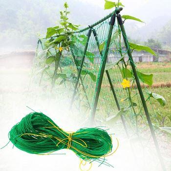 Obrázek Podpůrná síť pro pěstování zeleniny a květin