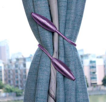 Obrázek Spona na závěsy - světle fialová