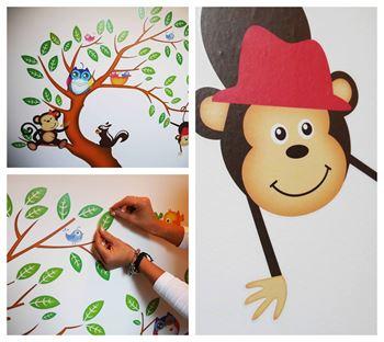 Obrázek Samolepky na zeď - Zvířátka