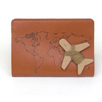 Obrázek Vzpomínkové pouzdro na cestovní pas - hnědé