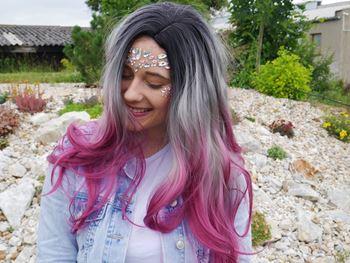 Obrázek Paruka - fialová