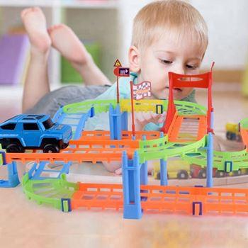 Obrázek 3D autodráha