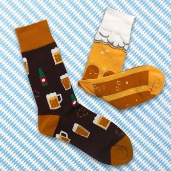 Obrázek Veselé ponožky - pivo