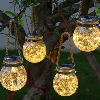 Obrázek Solární zahradní lampička