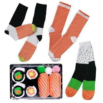 Obrázek Veselé ponožky - set sushi