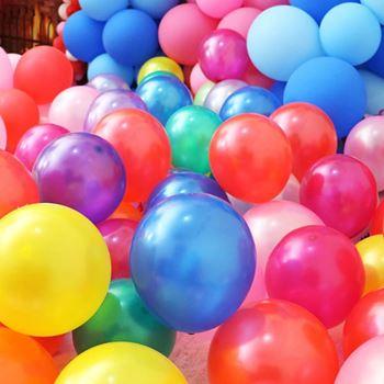 Obrázek Barevné balónky 100 ks